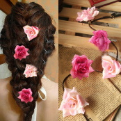 Clip-In Flower Extension