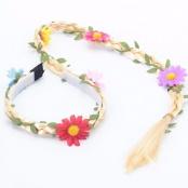 Haarband Bloemen Vlecht