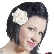 Haarbloem Roos